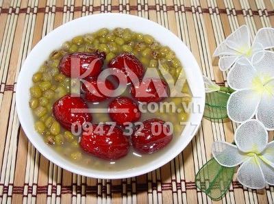 Táo đỏ nấu canh của KOLALA