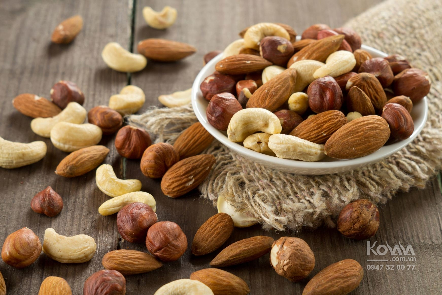 các loại hạt nhiều dinh dưỡng nhất, hạt nhập khẩu mỹ